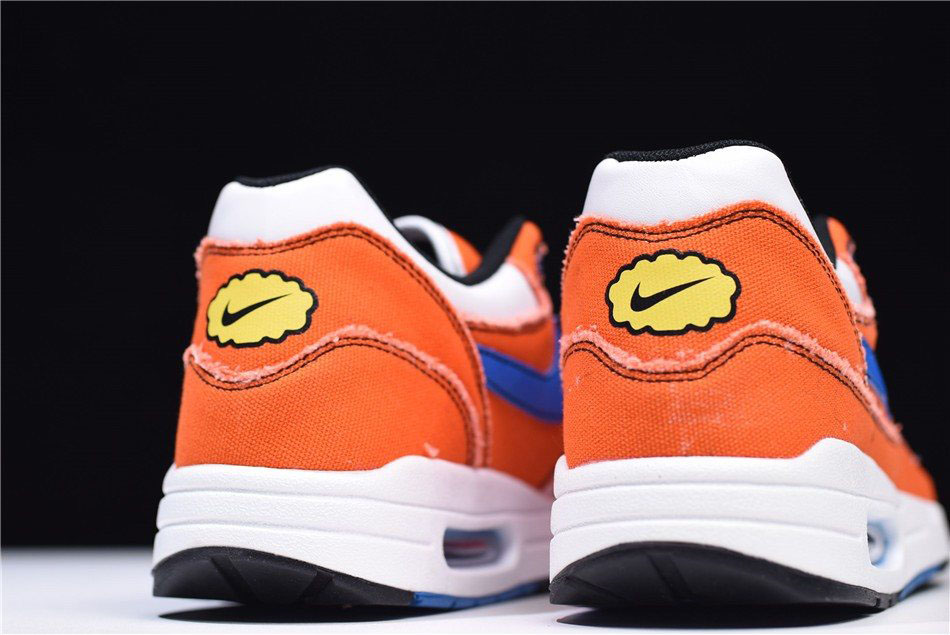 Custom Dragon Ball Z x Nike Air Max 1 Goku OrangeBlueWhite