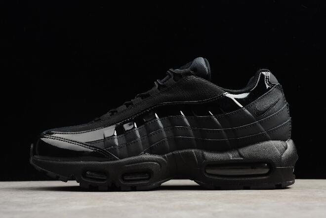more photos 55b5d 854c7 Nike Air Max 95 Black Black-Black Men s Running Shoes 307960-010