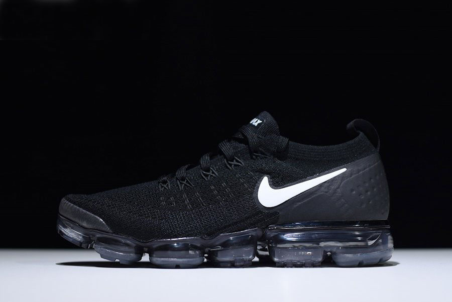 2b6e882319 2018 Nike Vapormax Flyknit 2.0 In Black And White 942842-001 For Sale