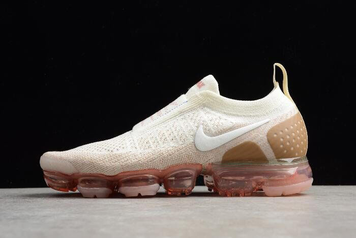 aebef097781 2018 Nike Air VaporMax Moc 2 Sail Anthracite Sand Wheat Green AH7006-